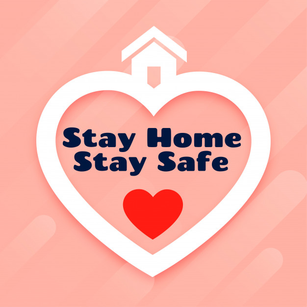Stay home stay safe poster design 1017 24829