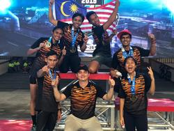 List logo 10. malaysia obstacle sports team   sea games 2019