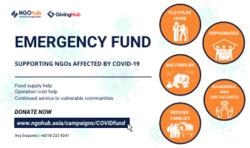 List logo covid fund