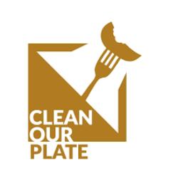 List logo clean our plate