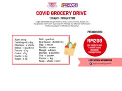 List logo  ngohub mco3 grocery drive 2020
