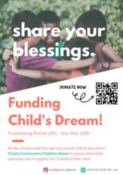 List logo poster  funding child s dream   1