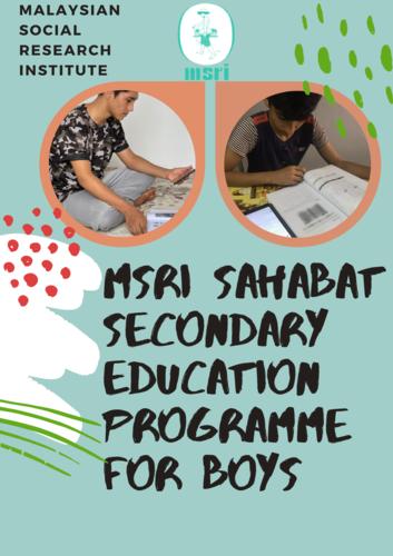 Header msri sahabat secondary education programme  1