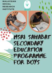 List logo msri sahabat secondary education programme  1