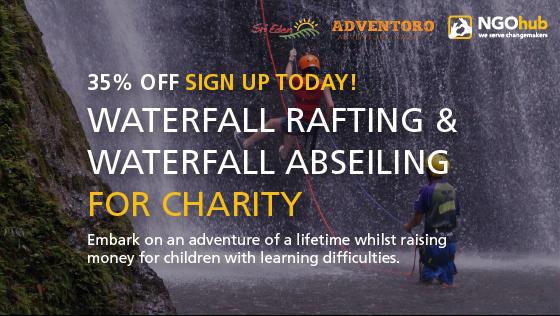 Water rafting sri eden challenge post