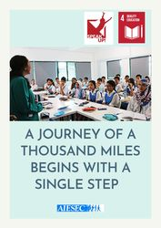List logo a journey of a thousand miles begins with a single step