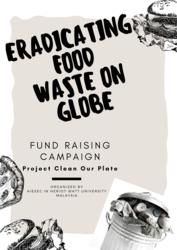 List logo eradicating food waste on globe  2