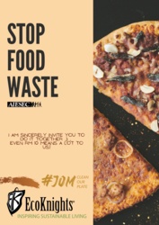 List logo stop food waste