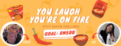 List logo you laugh you re on fire
