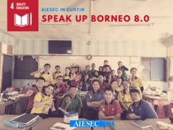 List logo acu speak up borneo 8.0