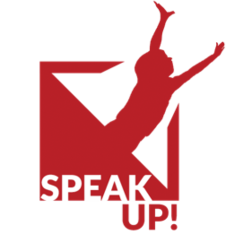Header speak up logo